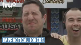 Impractical Jokers Man Dared To Suck Woman's Toe On The