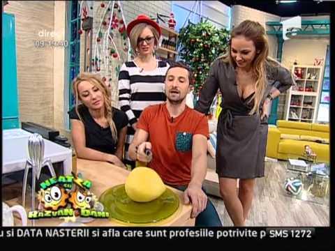 Dani Otil este îndragostit de fructul pomelo