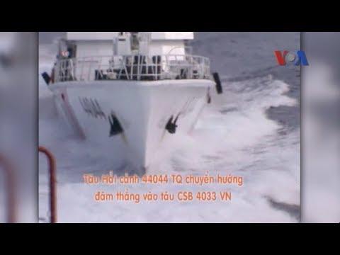 Mỹ lên án TQ khiêu khích trong vụ đụng độ với VN ở Biển Đông