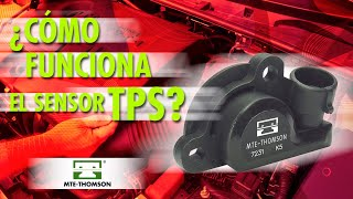 ¿Cómo funciona el sensor TPS?