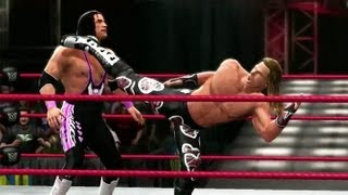 WWE 13 : Shawn Michaels Vs Bret Hart !