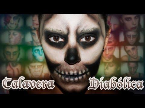 Maquillaje Halloween: Esqueleto diabólico, efectos especiales | Silvia Quiros, EFF