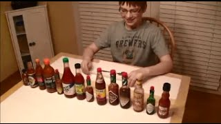 11-yr-old eats 14 hot sauces, Ghost pepper & Moruga Scorpion puree : Crude Brothers