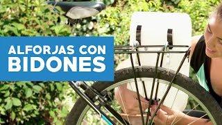 Haz unas alforjas para tu bicicleta