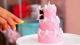 How To Make Five MINIATURE CAKES   PERFECT Beginner Fondant Cake   Yolanda Gampp   How To Cake It