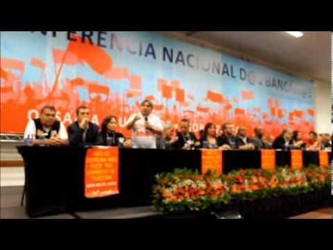 Abertura da 15ª Conferência Nacional dos Bancários - TV Bancária - Intersindical