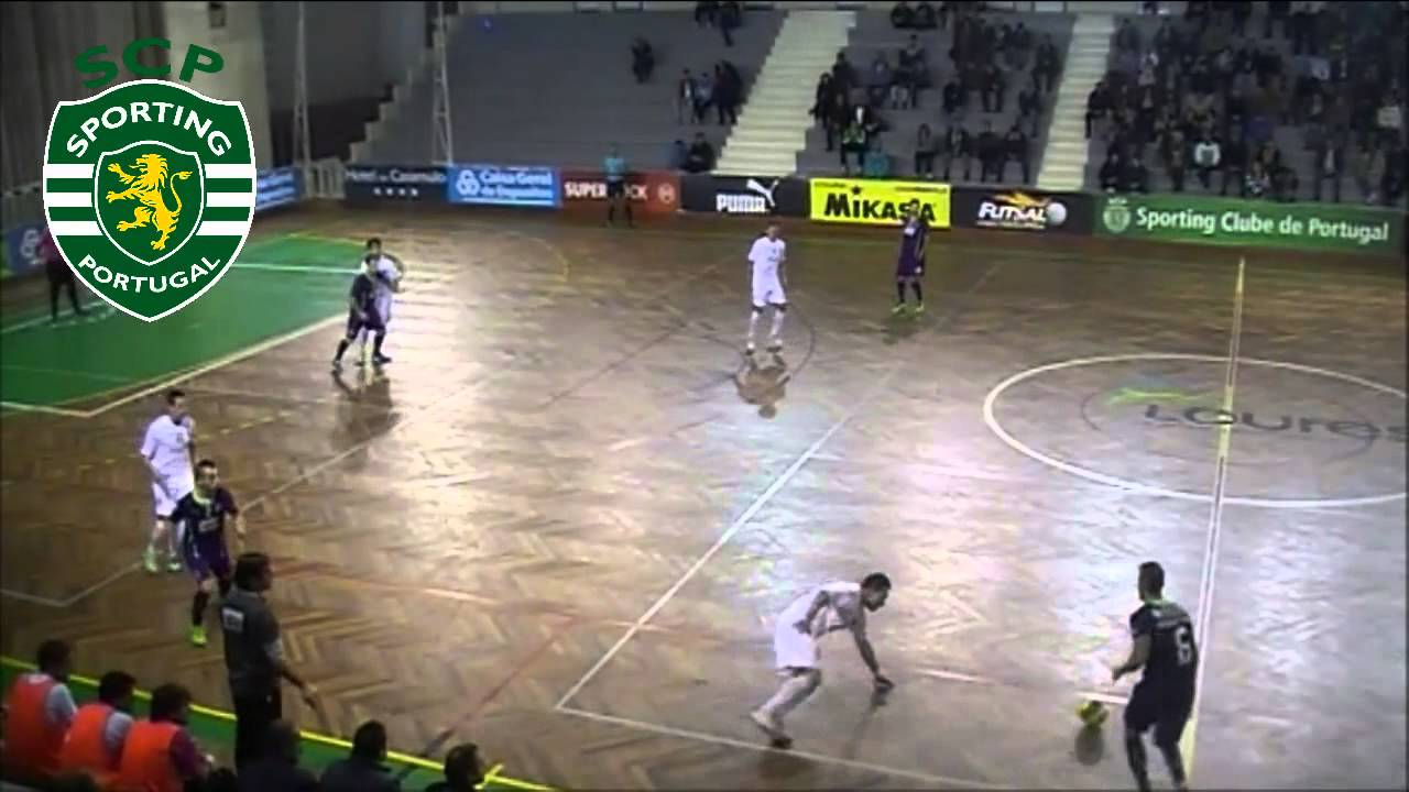 Futsal :: 12J :: Sporting - 8 x Académica - 0 de 2013/2014