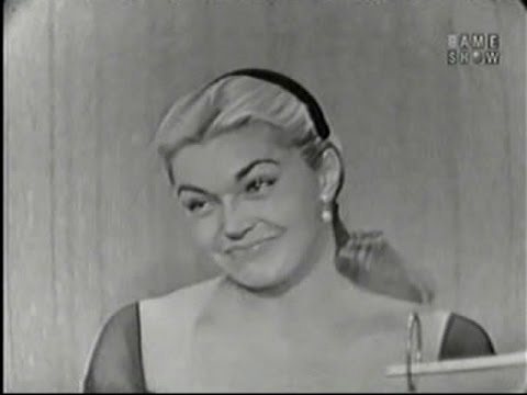 What's My Line? - Esther Williams; Dick Clark [panel] (Jul 27, 1958)