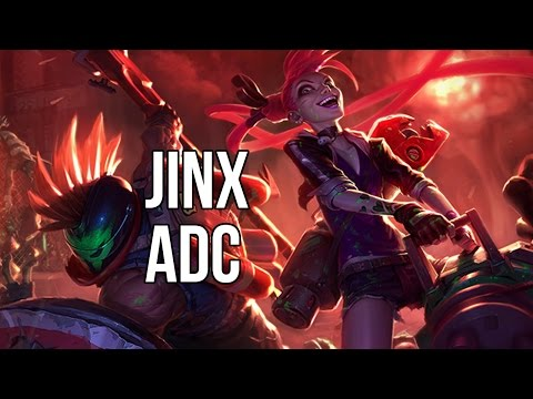 League of Legends - Slayer Jinx ADC - Full Game Commentary