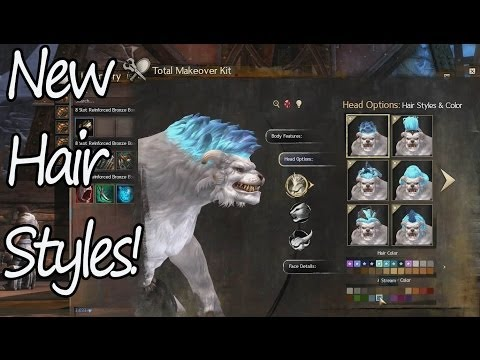 New Hairstyles All Races All Genders - Guild Wars 2