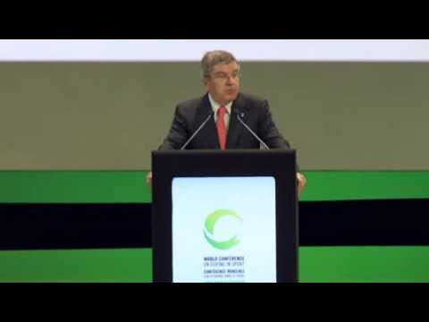 Opening Speech by IOC President Thomas Bach at WADA World Conference 2013-11-13