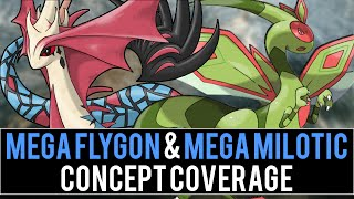 Mega Flygon & Mega Milotic Concept Coverage (Pokémon