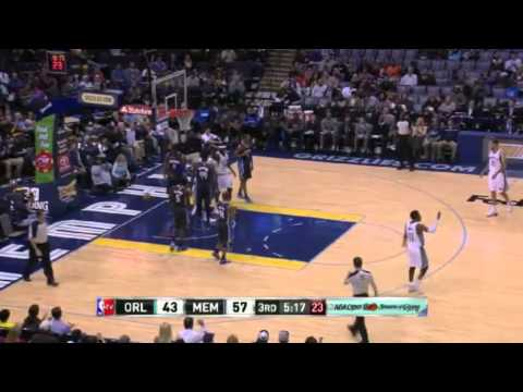 Randolph CLEANS UP Conley's Miss   Magic vs Grizzlies   December 9, 2013   NBA 2013 14 Season