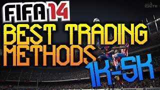 Fifa 14 UT Best Trading Methods 1k-5k