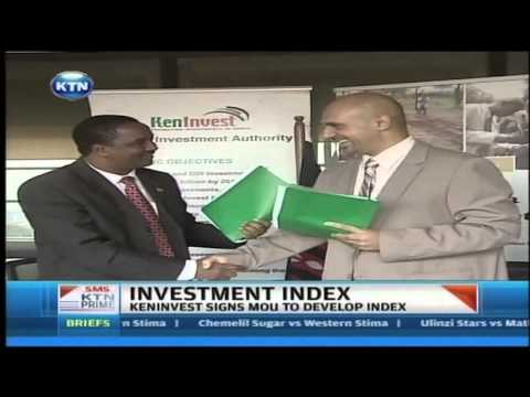 KENIVEST signs MOU to develop index