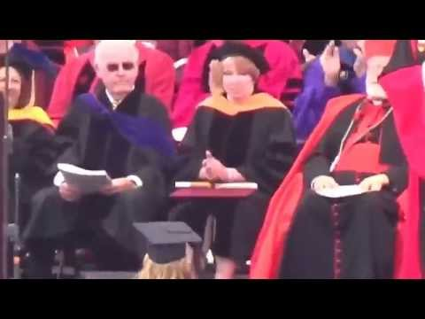 Dani Gautereaux accepts nursing degree with Sec of State John Kerry