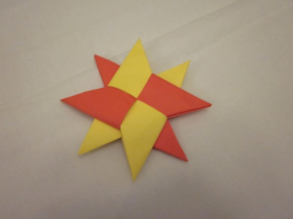 Origami Throwing Star Easy