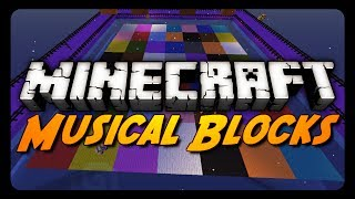 Minecraft: MUSICAL BLOCKS! w/ GrailMore! (NEW Mini-Game)