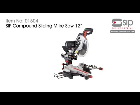 "SIP  01504 12"" 240 Volt Sliding Compound Mitre Saw & 01930 10"" Table Saw Package Deal - 01504SUM17"