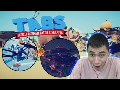 THATS A WHOLE DRAGON (Totally Accurate Battle Simulator)*Ep.1*