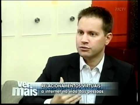 Antonio Borba fala sobre amizades reais e virtuais na Rede Record - 14/02/2011