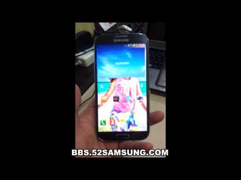 Samsung Galaxy S4 World First Hands-on i9502 China Unicom Ver., All credits go to 52Samsung, source: http://bbs.52samsung.com/thread-695291-1-1.html This is a Chinese Carrier Version, supports Dual SIM, similar to the Gal...