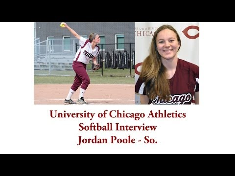 UChicago Athletics: Softball Interview with Jordan Poole (4-23-2014)