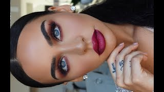 GET READY WITH ME: CRANBERRY MATTE