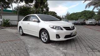 2012 Toyota Corolla Altis 2.0V Start-Up And Full Vehicle
