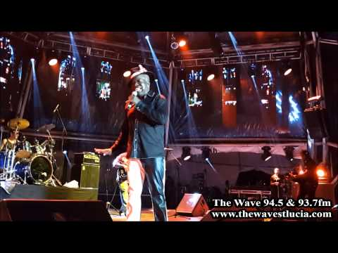 Barrington Levy performing at the St. Lucia Jazz & Arts festival 2014