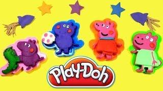 Play Doh Peppa Pig Playdough Peppa's Space Rocket Dough