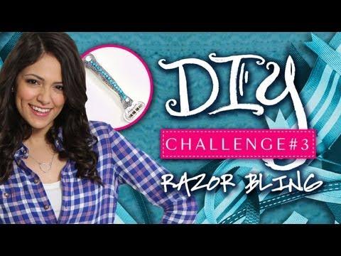 Macbarbie07 & Jasmine V Razor Bling DIY Challenge #3