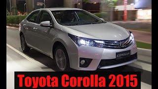Novo Toyota Corolla 2015 @motoreseacao