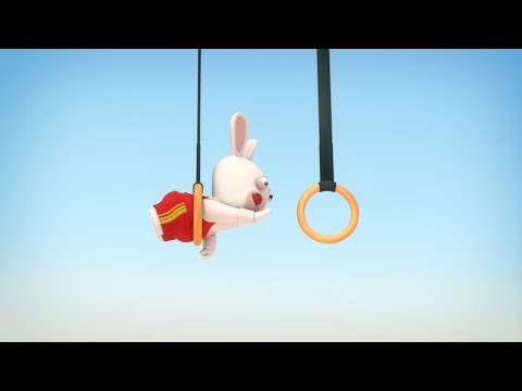 Rabbids Invasion - Gymnastika