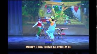 Mickey e a turma da Disney se apresentam no Pal�cio das Artes