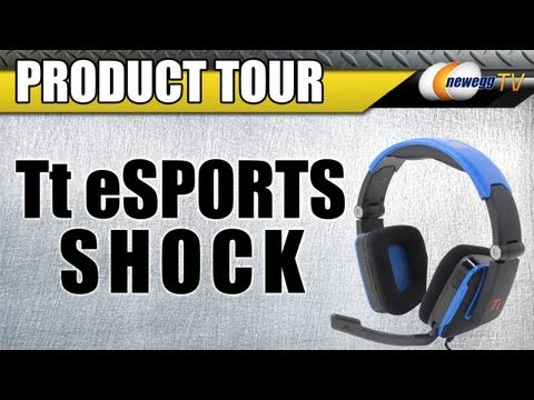 Newegg TV: Tt eSPORTS Blue Shock Gaming Headset Product Tour