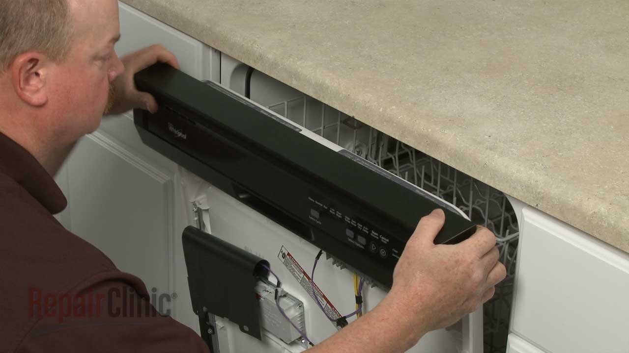 Dishwasher Control Panel Replacement Whirlpool