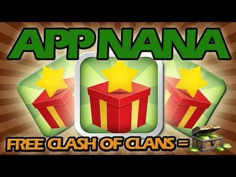 How to get FREE GEMS on Clash of Clans using App Nana + Epic Raid