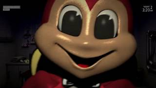FACE TO FACE WITH THE SCARIEST ANIMATRONIC YET... | FNAF Jollibee's (Part 2)