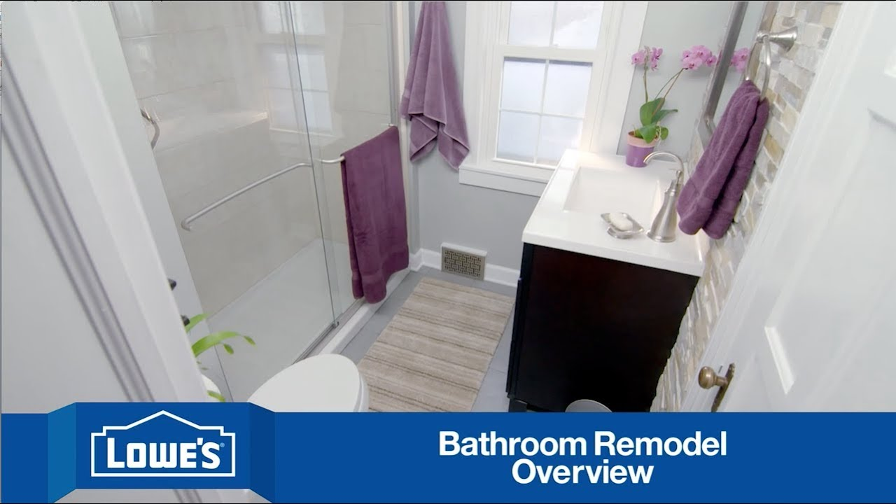 Budget friendly bathroom remodel series overview youtube for Youtube bathroom remodel