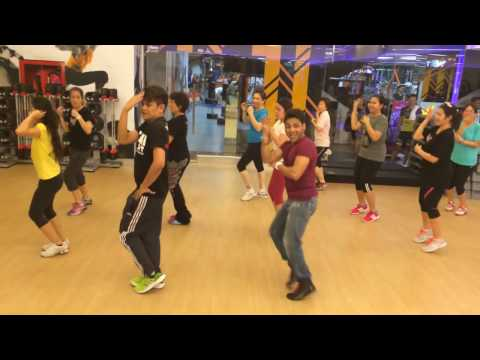 1234 Get On The Dance floor By ''Master Deepak'' held at We Fitness Society,bangkok,Thailand on
