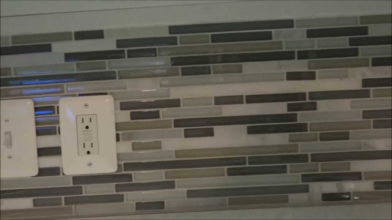 detailed how to diy backsplash tile installation youtube