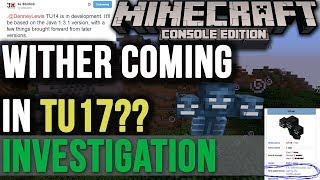 Minecraft Xbox & PS3: Wither Coming In TU17