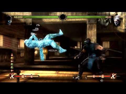 Mortal Kombat 9 - Combo Montage 2011 HD