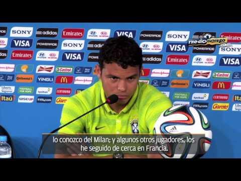 Thiago Silva vio 'jogo bonito' ante Colombia