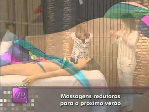 Massagens redutoras para o próximo verão - 31/08/2011