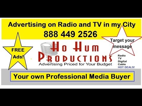how to advertise los angeles Radio Cable TV digital
