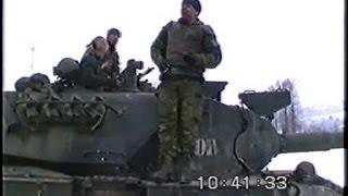Leopard 1 kampvogne på patrulje i Bosien part 1/2