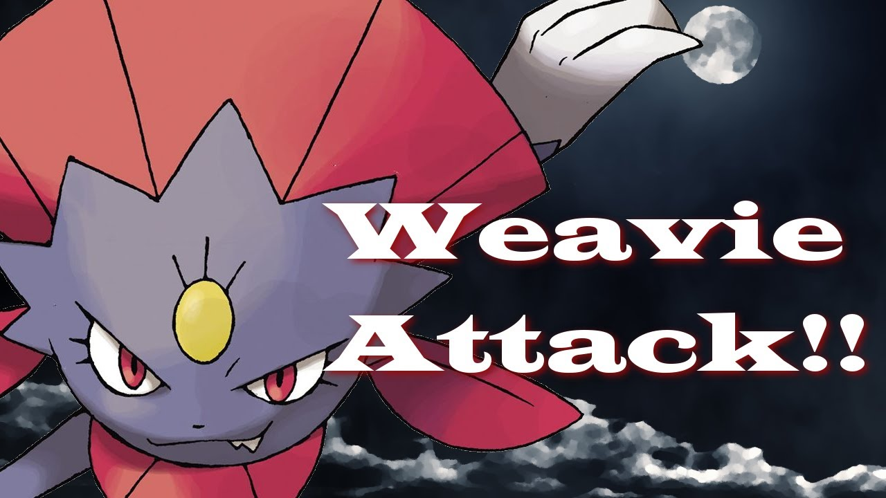 Pokemon X And Y Generation Six Pokemon Showdown Ou 45 Weavile Wrecks Youtube