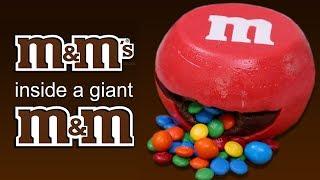 DIY GIANT M&M